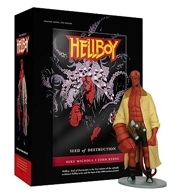 Mike Mignola's Hellboy Seed of Destruction Book and Figure Set By Mignola, Mike/ Byrne, John